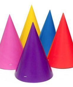 8 hatte i 8 forskellige farver - nytår eller fødselsdag