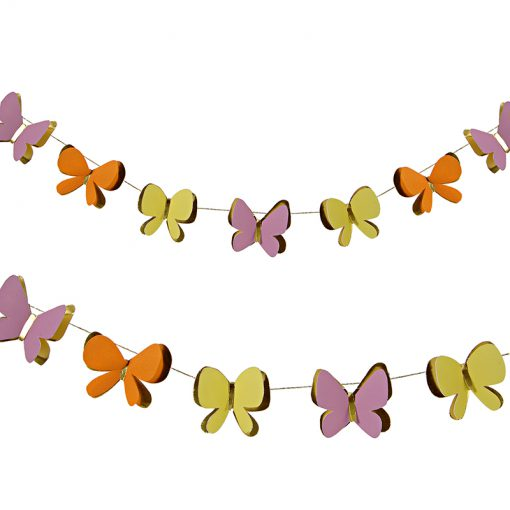 Mini guirlande med sommerfugle fra Meri Meri