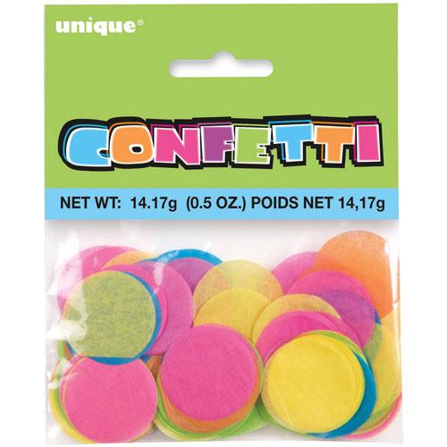 Pangfarvet konfetti