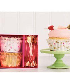 romantisk cupcakesæt