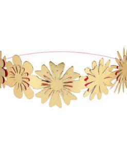 Yndig guld blomsterkrans fra Meri Meri