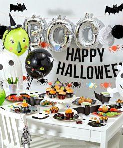 Halloween fest fra Meri Meri - balloner, service og guirlander