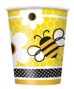 Papkrus med bier - børnefødselsdag