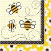 Serviet med bier - tema til fødselsdag