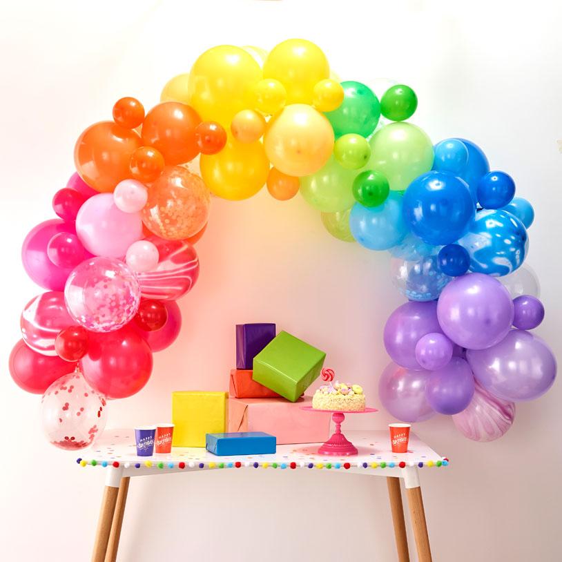 Bland selv balloner - stykvis