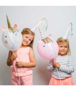 enhjørning balloner fra Meri Meri