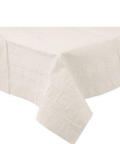 Hvid papirdug