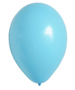 Lyseblå helium balloner