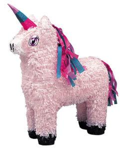 Lyserød enhjørning piñata