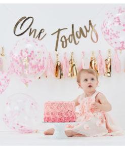 Cake smash kit - 1 års fødselsdag pige