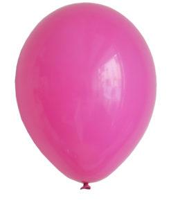 hot pink helium balloner