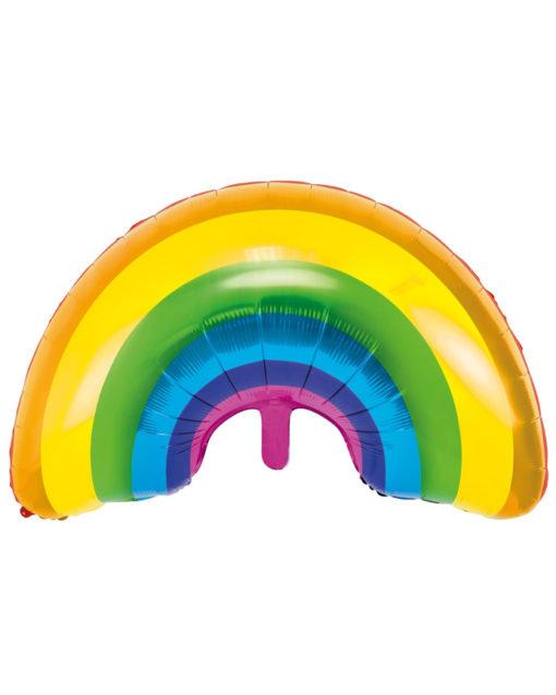 Kæmpe regnbue ballon folie