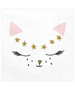 Katte servietter