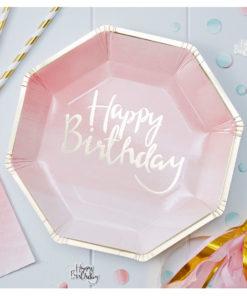 service til lyserød pigefødselsdag
