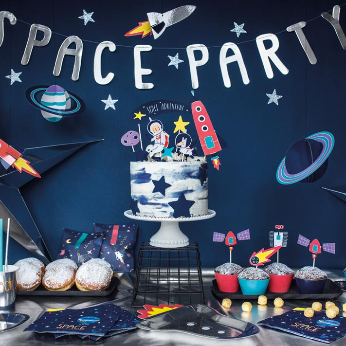 Astronaut i rummet - Space Party
