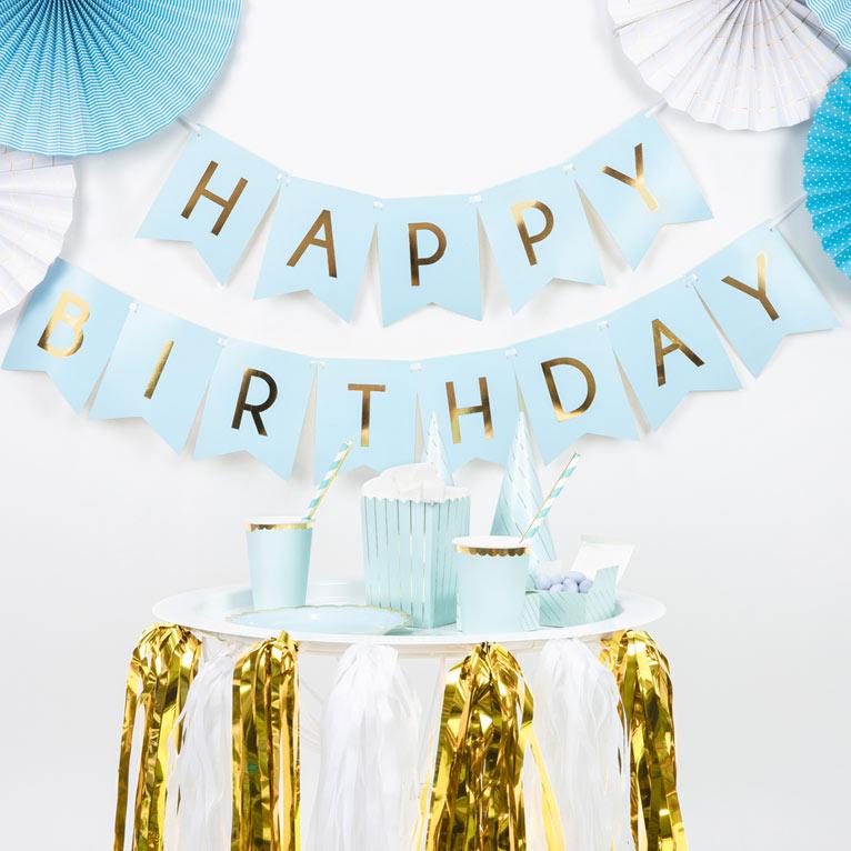 Fødselsdags guirlander