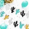 Kaktus guirlande til dinosaur tema - DIY