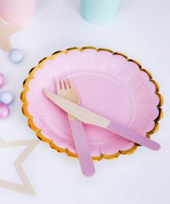 lyserød fest tema