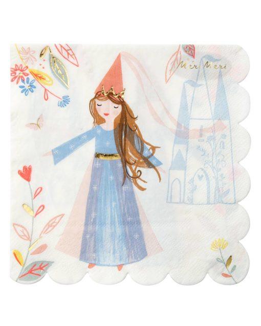 Prinsesse servietter - Meri Meri