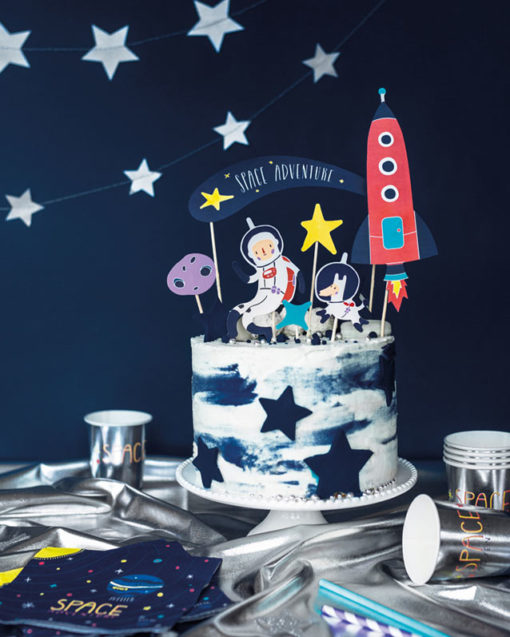 Space Party kagepynt - DIY
