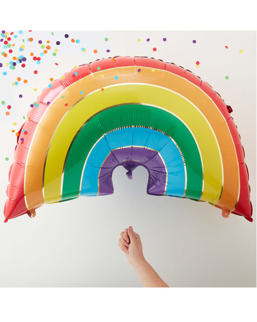 regnbue balloner