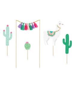 kagetoppere lama og kaktus