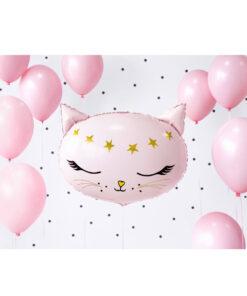 stor ballon med kat